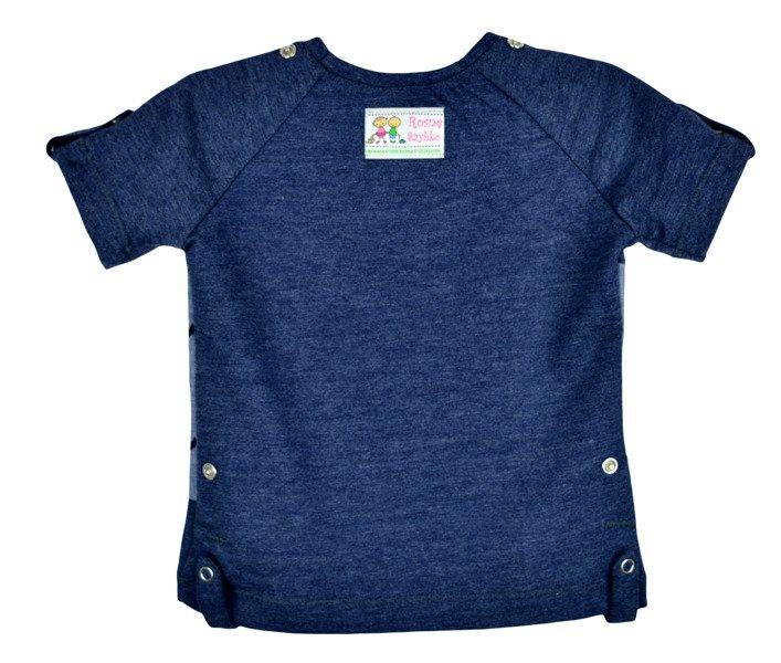 Navy blue big anchors navy blue for boys t shirts for Big blue t shirts